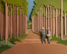Carlos Meira Ilustrador: Calendário 2012 Klabin