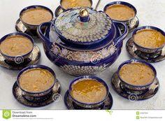 Soupe Marocaine à Harira Image stock - Image: 31921201