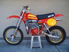 1979- Honda CR250R Moto-X Fox package racer