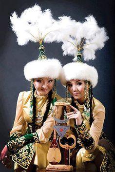 Yöresel kıyafetler, il il yöresel kıyafetler, yörelerimize ait milli kıyafet çeşitleri -Kırgız kızı