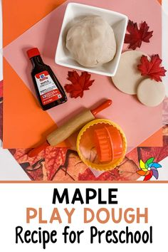 Are you looking for an easy play dough recipe that takes minutes to make? This sweet maple scented play dough recipe is perfect for preschoolers. This is a great sensory activity you can use during your preschool centers. Students love learning through play with this play dough recipe. Create a play dough station where preschoolers can to pretend to make pancakes. They absolutely love using their imagination as they play! Preschool Cooking, Preschool Decor, Preschool Art Projects, Preschool Centers, Sensory Activities For Preschoolers, Easy Playdough Recipe, Sensory Bottles, Play Dough, Learning Through Play