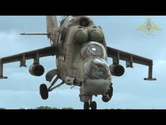 Russia Ministry Of Defence - Mi-35 Hind Attack/Transport Helicopter [720p] - YouTube