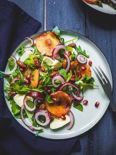 Salad Recipes, Dessert Recipes, Desserts, Vegan Christmas, Christmas Recipes, Yams, Ratatouille, Vegetable Pizza, Potato Salad