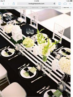 Black & White Party Theme
