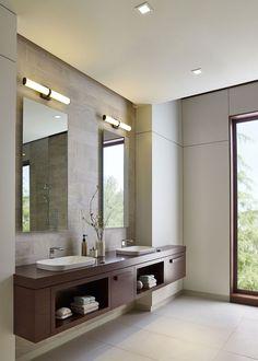 Master Bathroom Vanity, Luxury Master Bathrooms, Modern Master Bathroom, Bathroom Design Luxury, Dream Bathrooms, Beautiful Bathrooms, Modern Bathroom Vanities, Modern Luxury Bathroom, Luxurious Bathrooms