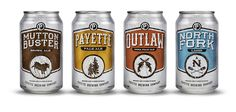 Payette Brewing Co. - Can Design by Conrad Garner, via Behance