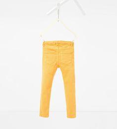 ZARA - KIDS - Colourful skinny trousers
