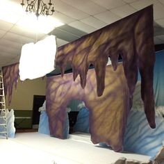 Stage 2 decorating the cave