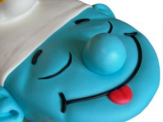 Smurf cake I would like this and the avengers one as my birthday cakes this year!