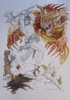 CONAN COMMISSION BY ESTEBAN MAROTO SOLD !! Comic Art