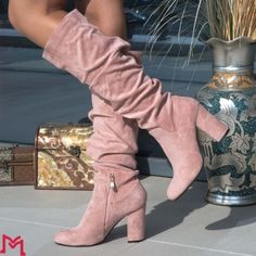 Cizme cu Toc Knee Boots, Booty, Ankle, Shoes, Fashion, Moda, Swag, Zapatos, Shoes Outlet