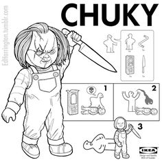 IKEA Manuals For Your Favorite Horror Villains