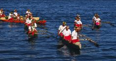Village boats come out to greet Tui Tai