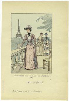 vintage paris postcard...
