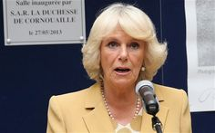 Duchess of Cornwall gives first French speech, addressing volunteers and members of the Emmaus community.