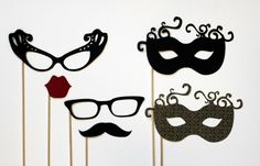 Photobooth Prop. Mariage Photo Booth. Nouvel an. Photo Prop. Mariage Prop. New Years Eve