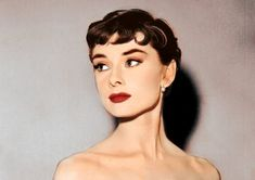 The always lovely Audrey Hepburn