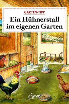 So bauen Sie sich Ihren perfekten Hühnerstall im eigenen Garten selbst. Und was es sonst noch alles zu beachten gibt, ist gleich hier finden. Painting, Trench, Enemies, Animales, Painting Art, Paintings, Painted Canvas, Drawings