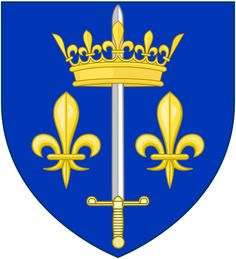 Coat of Arms of Jeanne dArc.This Day in History: Apr 29, 1429: Joan of Arc relieves Orleans http://dingeengoete.blogspot.com/