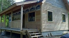 Our 20 x 34 1-1/2 story cabin in Michigan