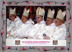 LOS OBISPOS CELEBRACIÓN A LA MISA DEL 24 DE DICIEMBRE DEL VATICANO 2012.    †♠LOURDES MARIA†♠