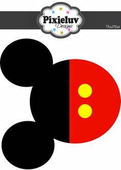 Mickey: banderines de