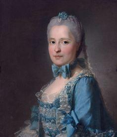1760 Marie-Josephe de Saxe by Jean-Martial Fredou (Museum Boijmans Van Beuningen - Rotterdam, Zuid-Holland, Holland) Wm UPGRADE