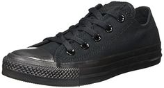 Converse Chuck Taylor All Star, Unisex - Erwachsene Sneaker, Schwarz (Monocrom), Gr.36.5 EU - http://on-line-kaufen.de/converse/36-5-eu-4-uk-converse-ctas-mono-ox-015490-unisex