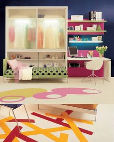 Small Spaces Teen Room Interior Design Ideas3 » 12 Teen Room Interior Design Ideas For Small Spaces post photo