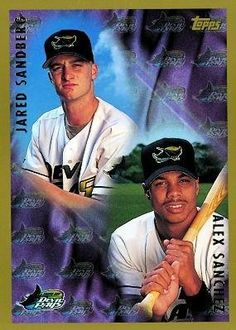 1998 Topps #250 Jared Sandberg / Alex Sanchez - Tampa Bay Devil Rays (Baseball Cards) by Topps. $0.88. 1998 Topps #250 Jared Sandberg / Alex Sanchez - Tampa Bay Devil Rays (Baseball Cards)