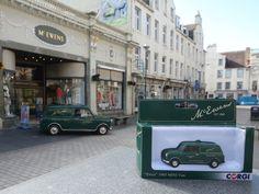 Big Ewen and wee Ewen, our mini vans.   McEwens Perth Scotland