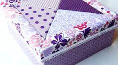 Resultado de imagen para caixas decoradas com tecido