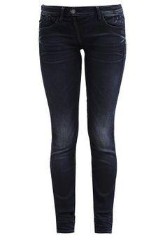 LYNN ZIP MID SKINNY - Slim fit jeans - yent stretch denim