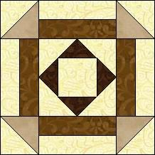Block of Day for November 28, 2014 - Squares and Stripes