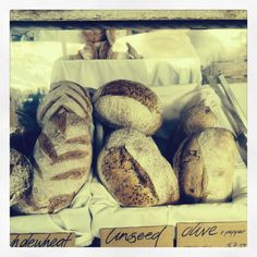 Beautiful bread from Mullumbimby farmers market