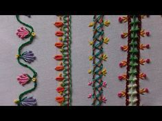 Beginners hand embroidery. Follow me as I learn how to do the art of hand embroidery, and invite you to learn with me.   Today i will be covering 10 Basic stitches. Once you familiarize yourself with basic stitches, you will find that they are the foundat