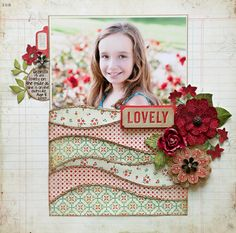 In this tutorial, Stacy Cohen shares how she made the layered pattern paper waves on her layout.