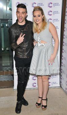 Tom e @MissKelseyH no evento beneficente Jog-On to Cancer Part 4 Party em Londres, na Inglaterra. (7 abr.)