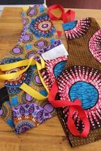Aprons - Wax Print – Lukhanyiso Arts & Crafts African Design, Aprons, 4th Of July Wreath, Wax, Arts And Crafts, Contemporary, Handmade, Color, Ideas