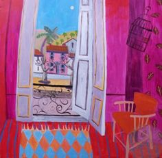 The Pink House in the Square by Jenny Wheatley