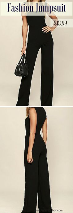Fabulous jumpsuit - if you are looking for classy, but fabulous outfit for your office days. Click on the photo to see the details!
