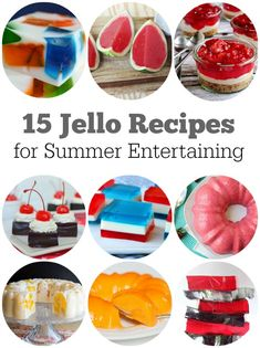 15 Awesome and Easy Jello Recipes