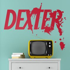 Adesivi Murali: Dexter #tv #decorazione #deco #StickersMurali