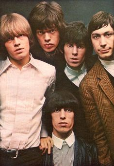 Brian Jones, Mick Jagger, Keith Richards, Bill Wyman and Charlie Watts - The Rolling Stones The Rolling Stones, Mick Jagger, Rock N Roll, New Wave, Keith Richards, Melanie Hamrick, Francis Wolff, Mundo Musical, Rollin Stones