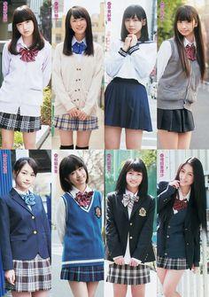 6 Japanese School Uniform Girl, School Girl Dress, School Uniform Girls, Girls Uniforms, Japanese Model, Japanese Fashion, Beautiful Japanese Girl, Beautiful Asian Girls, Cute Asian Girls