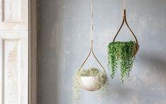 Tom Raffield Morvah Ceiling Hanging Planter