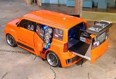 DJ Booth Car