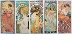 art nouveau tattoo | Recent Photos The Commons Getty Collection Galleries World Map App ...