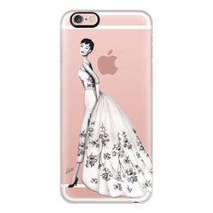 Timeless Audrey Hepburn Transparent - iPhone 6s Case,iPhone 6... (€36) ❤ liked on Polyvore featuring accessories, tech accessories, iphone case, apple iphone cases, iphone cover case, clear iphone cases, slim iphone case and iphone cases