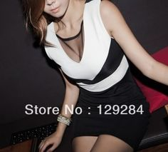 Aliexpress.com : Buy Summer Fashion women's mesh chest sundress slim waist sexy stretch one piece Dress girl's lady clothes wholesale retail  from Reliable dress suppliers on Chinarui International  trade Clothes Co.,Ltd $6.80